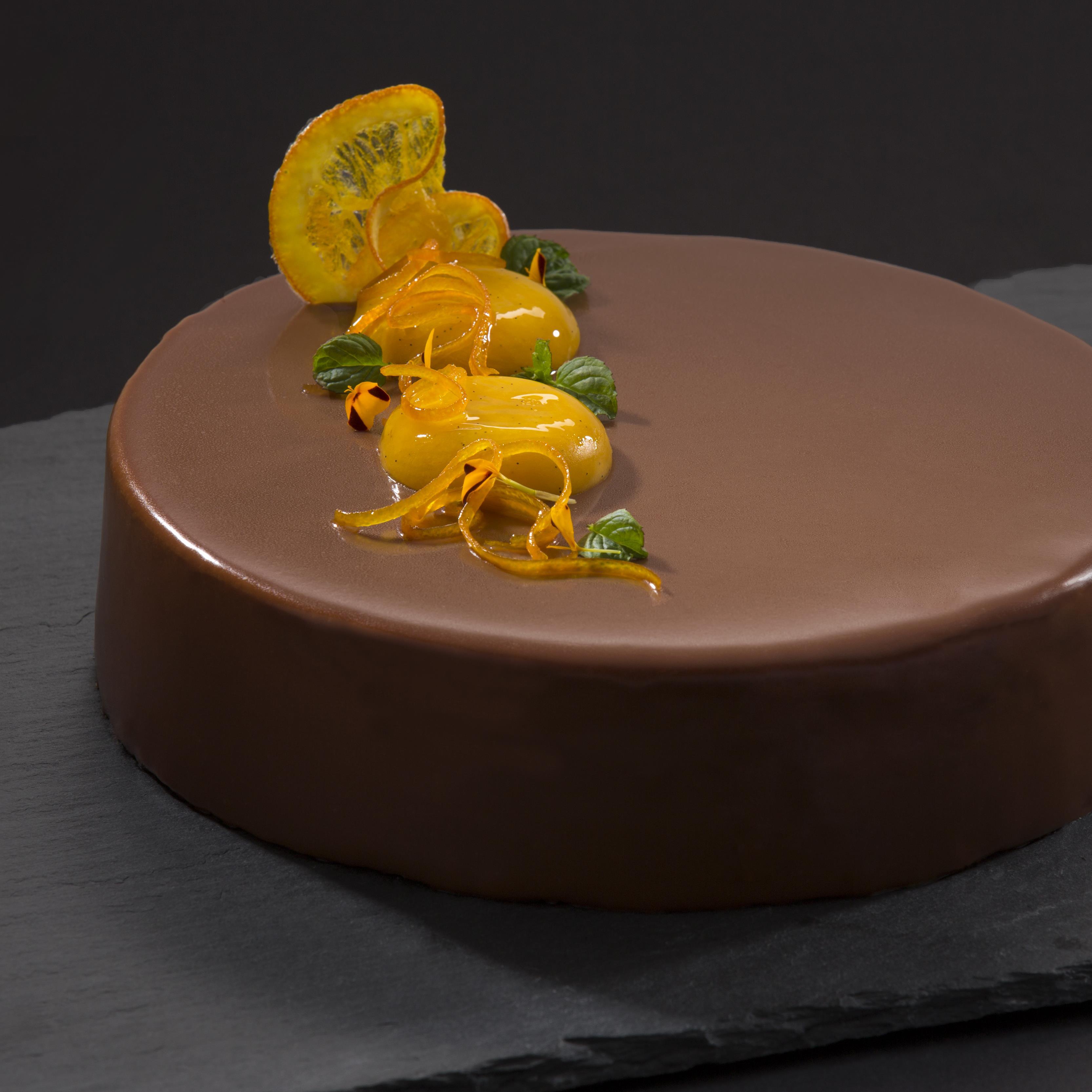Orange Vanilla Chocolate Entremet