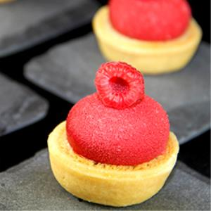 Gluten Free Frangipane Raspberry Tartlet