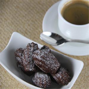 Mini Cocoa Madeleines